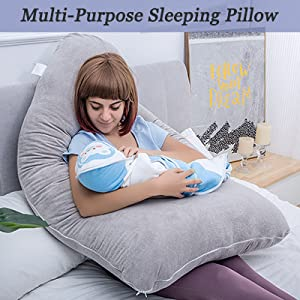 use as nursing pillow and relaxation pillow where necessary