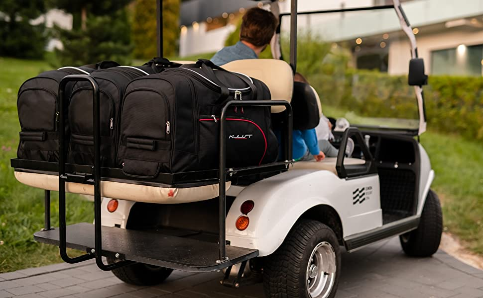 Kjust Dedizierte Kofferraumtaschen 2 Stk Set Kompatibel Mit Opel Adam I 2012 Auto