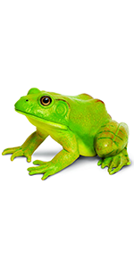 frog, figurine, large, safari, creature