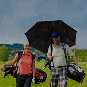 large umbrella golf rain