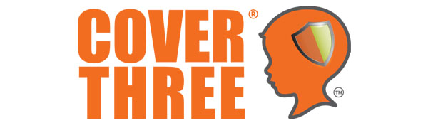 Cover Three Kids, logo, dha, brain support, health, eye, joint