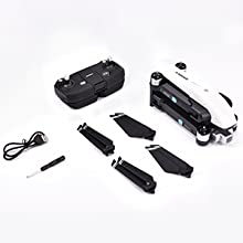 Flashandfocus.com a77a6ef9-a6a0-452f-ba9f-6ff734f1fd91.__CR0,0,300,300_PT0_SX220_V1___ SIMREX X20 GPS Drone with 4K HD Camera 2-Axis Self stabilizing Gimbal 5G WiFi FPV Video RC Quadcopter Auto Return Home…