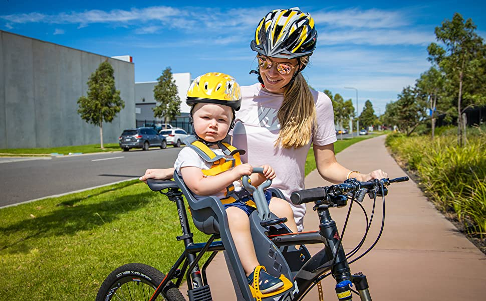 DO LITTLE Universal Kids Front Facing Bike Seat Attachment