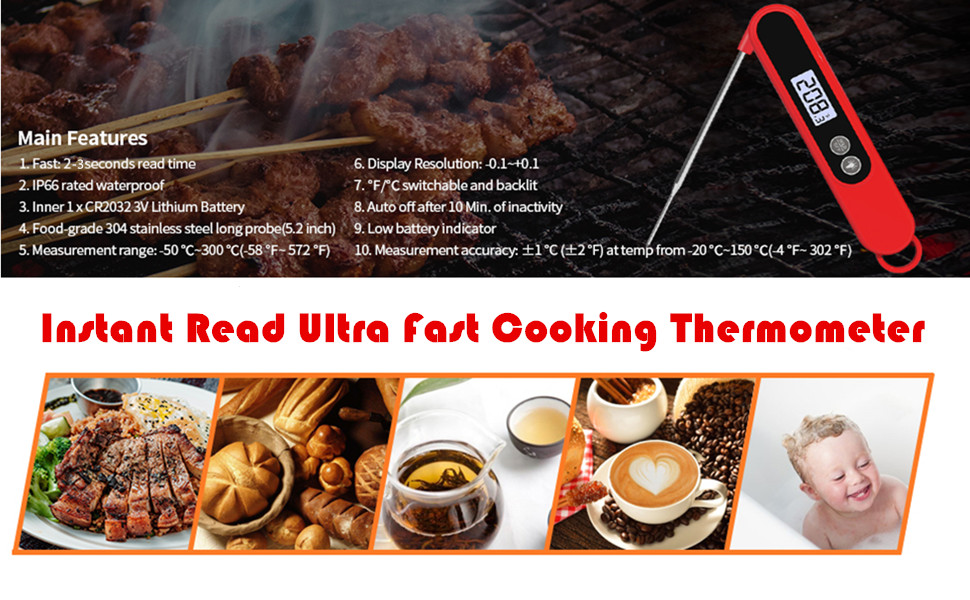 kitchen cooking food thermometer