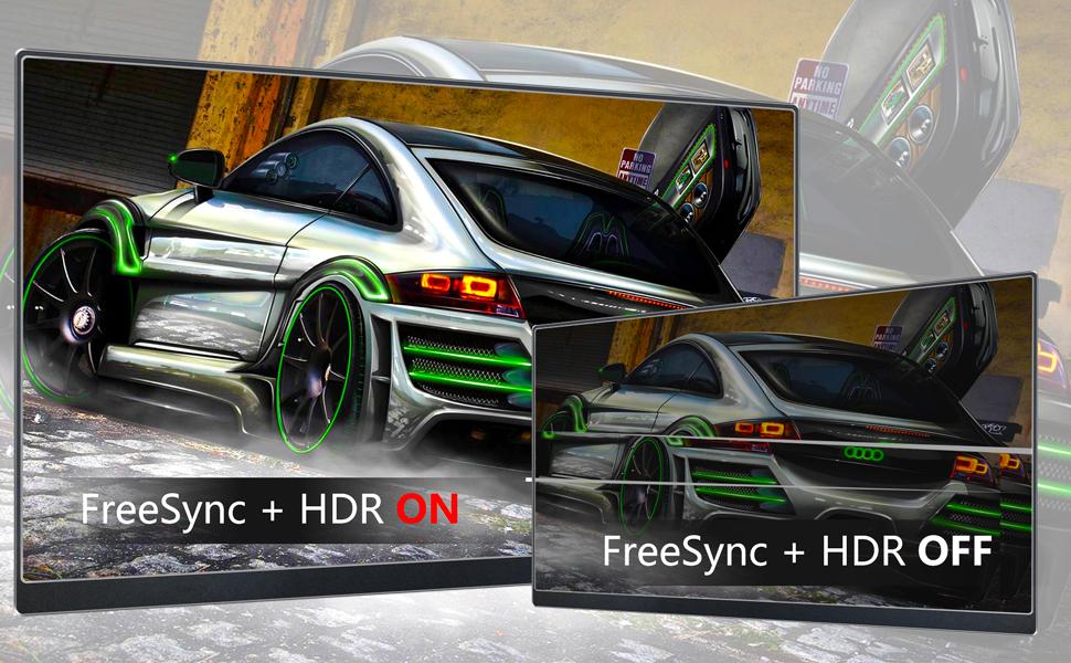 Portable Monitot FreeSync HDR