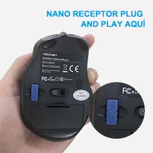 2.4G Mouse Inalámbrico