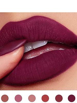 Matte Lispick Velvet Matte Lipstick Velvet Lipgloss Set Moisturizing Lipstick Matte Liquid Lipstick