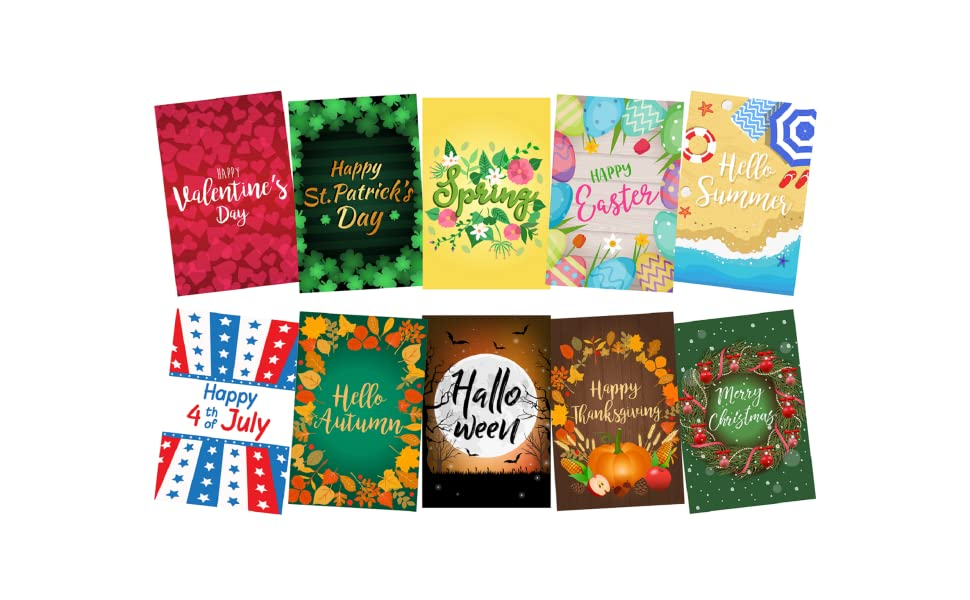 garden yard flags set seasonal holiday prime small mini large prime 12x18 12x 18 12 x 18 two sided