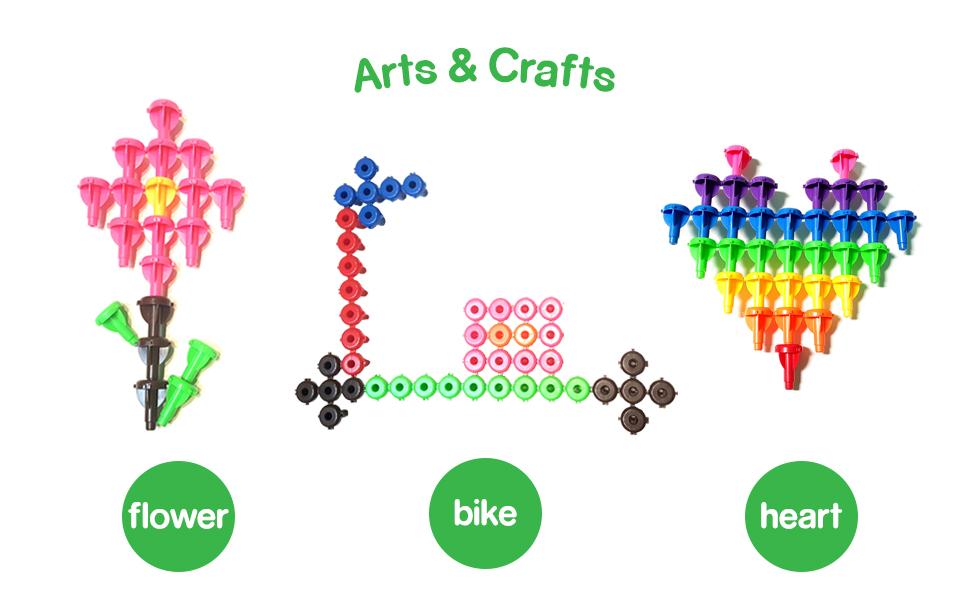 kids korner, arts and crafts, crafts for girls, toddler crafts, imaginative toys, tinker toys, toys