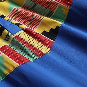 African racial style shirt