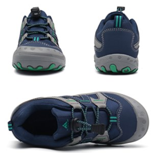 Buckle Blue Hiking Shoes