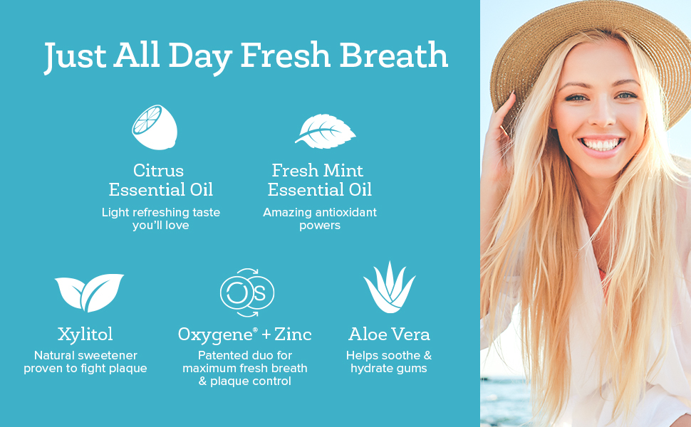 xyfresh for bad breath mouthwash with some natural ingredients, we've got your covered.