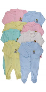 baby's full onesies with footies