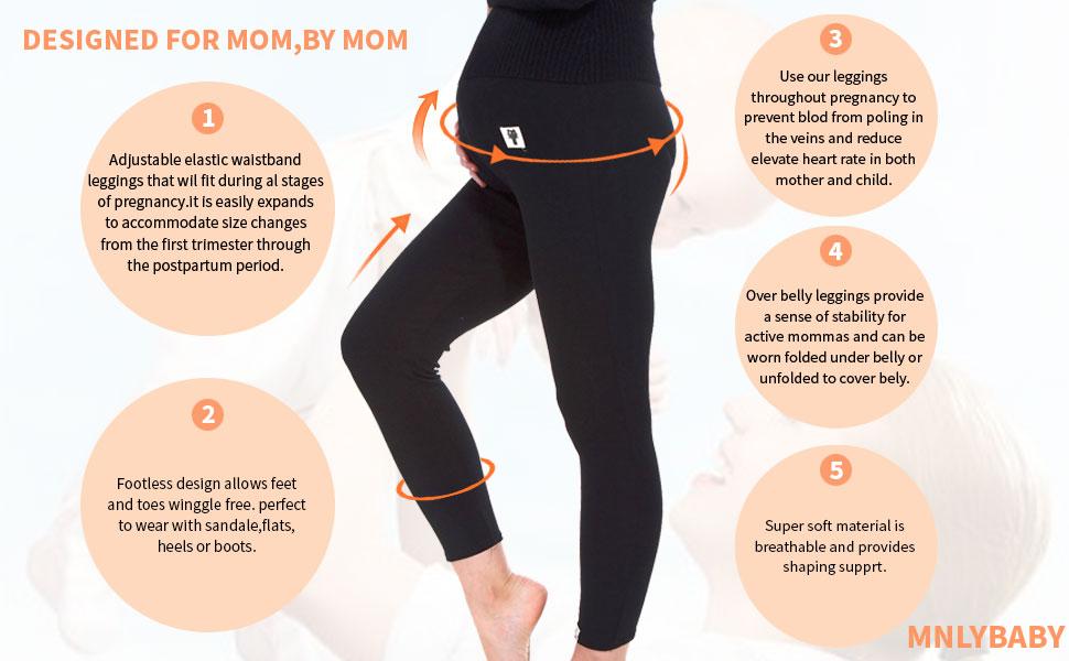 Maternity-PREGNANT Leggings vendeur de USA 2-3 jours de livraison
