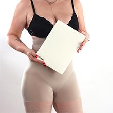 medical belt sheet white pad binder adhesive shapewear silicone waist tape kit op band support