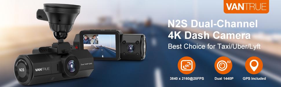 Dual 4K dash cam