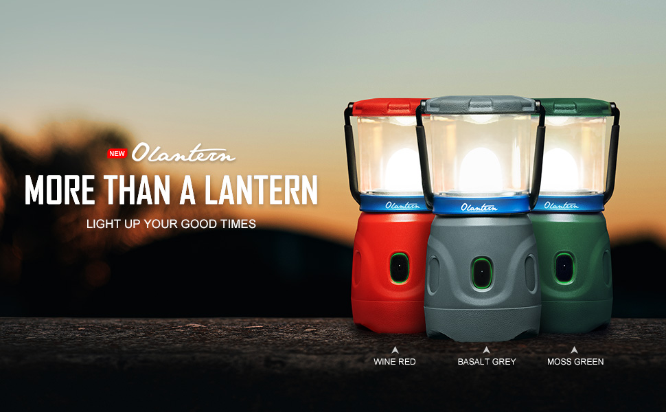 Olantern-Your wise choice on led camping light