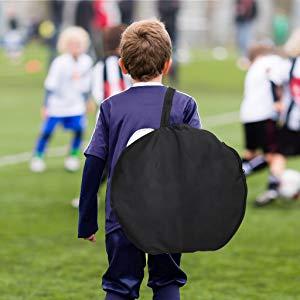 Foldable football goals