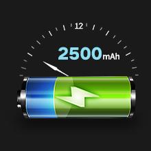 2500mAh Li-on battery