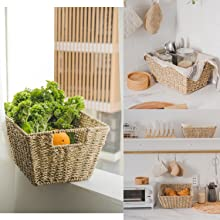 wicket baskets for storage