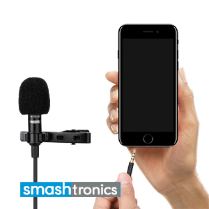 Insert microphone to the smartphone