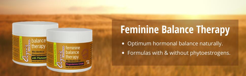 feminine balance therapy optimum hormonal balance naturally formulas with without phytoestrogens