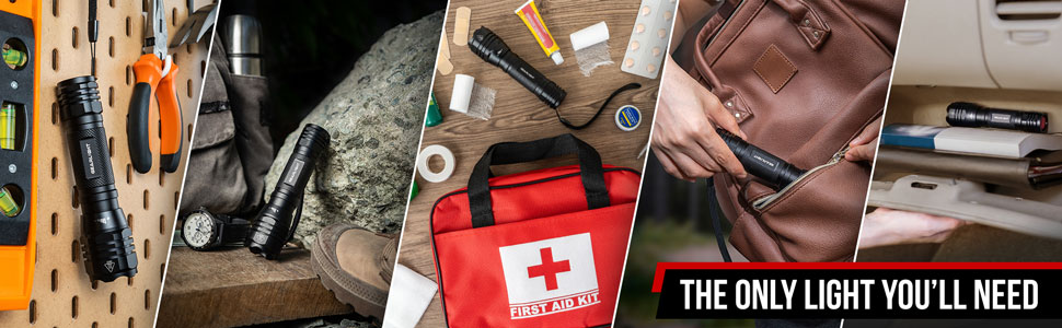 tools tool hiking hike camping camp first aid kit backpack purse glove box car compact small