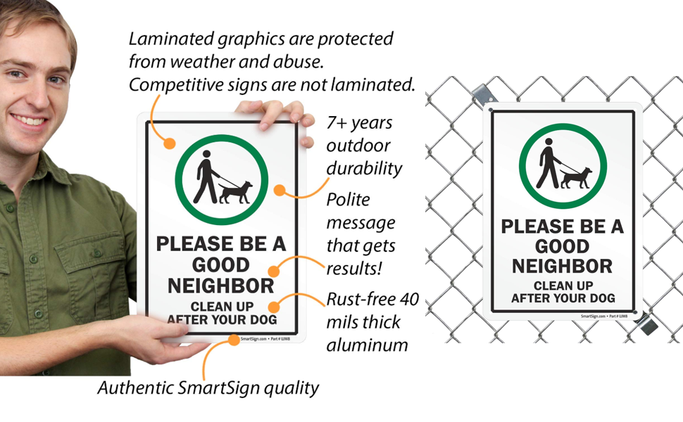 Please Be A Good Neighbor Banner