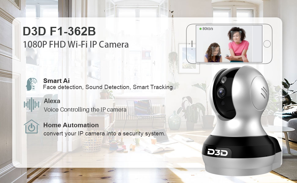 F1-362B Home Security IP Camera