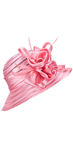 Fascinator Floral Cloche Hat for Melbourne Cup