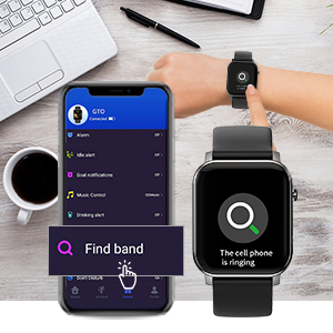 Smartwatch mit Musik