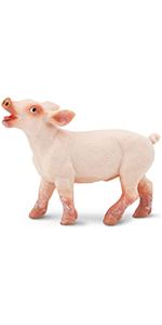 pig, piglet, farm animal, safari collection
