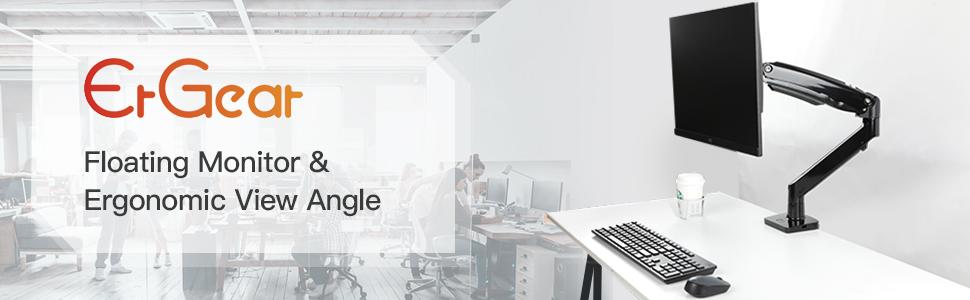 ergear single monitor mount