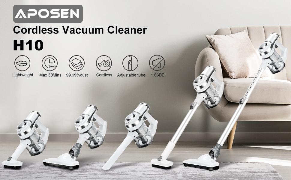 APOSEN H10 Cordless Vacuum Cleaner
