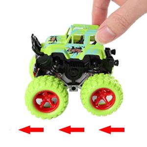 mini monster truck car set for kids toddlers children