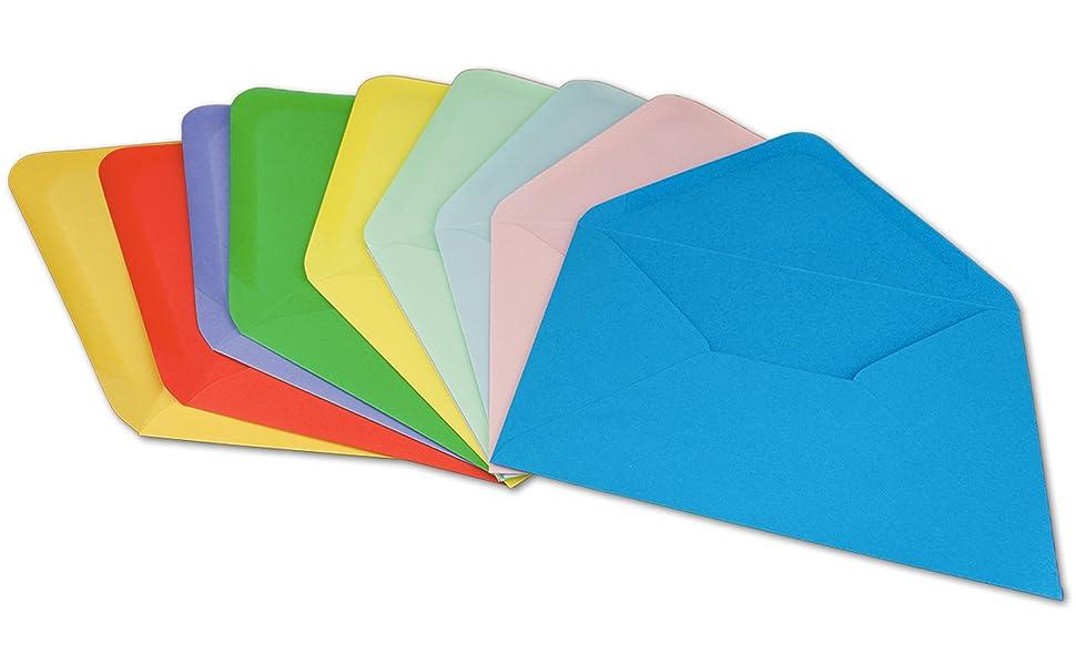 briefumschläge c6 kuvert umschläge farbig bunt briefumschlag umschlag c 6