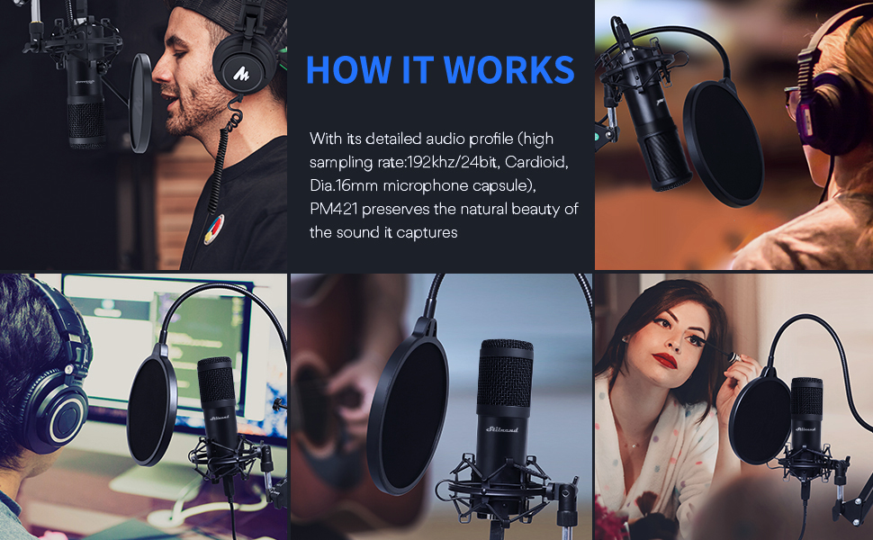 USB Streaming Microphone Kit