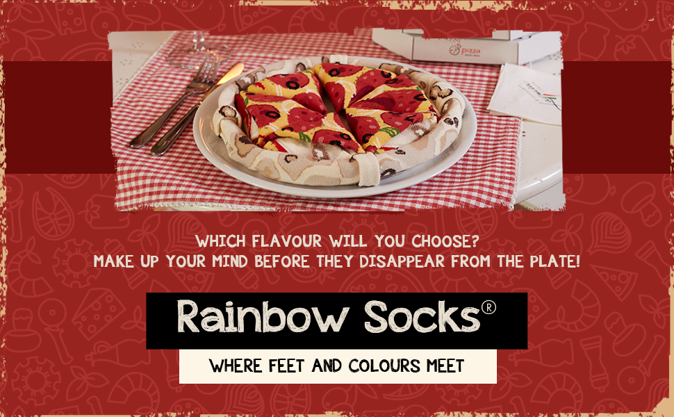 Rainbow Socks. Where feet and colours meet