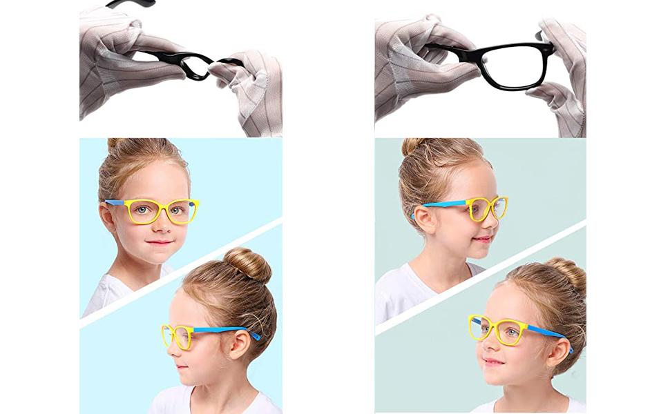 blue light glasses kids boys