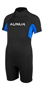 Amazon.com: Aunua Youth 3/2mm Neoprene Wetsuits for Kids ...