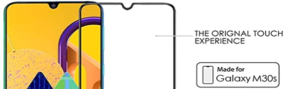 samsung m30s tempered glass