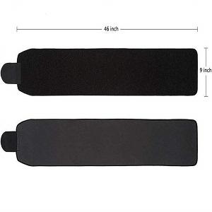 size of slimming belt