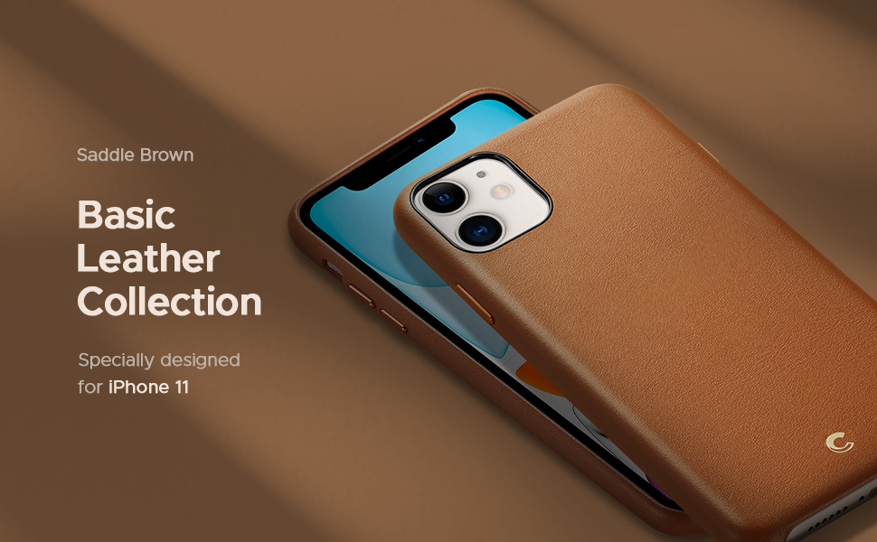 Basic Leather Collection for iPhone 11