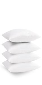 throw pillow insert 4 pack