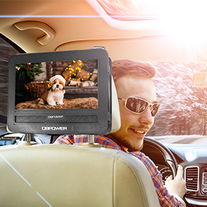 Enjoy video in the car