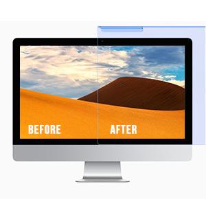 blue light filter for computer monitor blue light screen protector desktop monitor anti glare