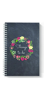 Get It Done spiral notebook