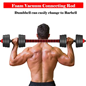 dumbbell barbell multi function workout equipment