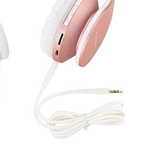 drahtlose und kabel Kopfhörer Over-Ear-Headset mit aux Bluetooth-Kopfhörern für Mobiltelefone mac