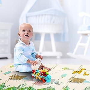folding baby mat